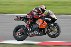 Honda Superbike Stock Images