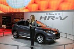 Honda SUV at Auto Show Stock Photos