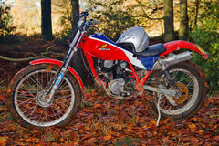 Honda TLR trials bike Royalty Free Stock Photo