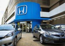 Honda-Verkaufsstelle Stockbild