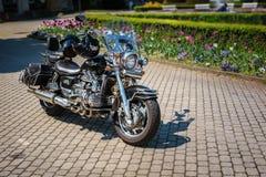 Honda Vlakyrie F6C GL1500C i cykelhändelse Royaltyfri Bild