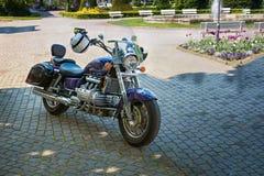 Honda Vlakyrie F6C GL1500C i cykelhändelse Royaltyfria Bilder