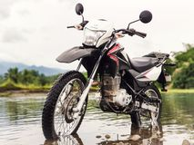 Honda XR150L photo stock