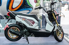 Honda ZOOMER X Motorcycle Royalty Free Stock Photo