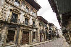 Hondarribia, βασκική χώρα, Ισπανία στοκ φωτογραφία με δικαίωμα ελεύθερης χρήσης