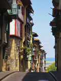 Hondarribia. Maritime town of hondarribia, Basque country, Spain Royalty Free Stock Images