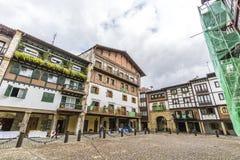 Hondarribia, Baskijski kraj, Hiszpania fotografia stock