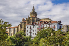 Hondarribia, Baskijski kraj, Hiszpania zdjęcia stock