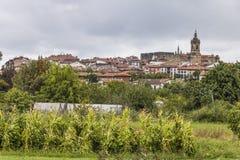 Hondarribia, Baskisch land, Spanje royalty-vrije stock afbeeldingen