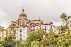 Hondarribia, Baskisch land, Spanje stock fotografie