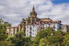 Hondarribia, Baskisch land, Spanje stock foto's