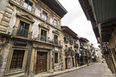 Hondarribia, Basque country, Spain. Hondarribia is a town situated on the west shore of Bidasoa river's mouth, in Gipuzkoa, in Basque Country, Spain. The border royalty free stock photography