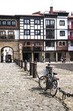 Hondarribia,euskadi ,europe. Picture of one of the tycpical places in hondarribia in euskadi Stock Image