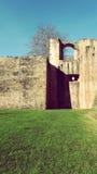 Hondarribia Fuenterrabia de Architectuur van de Stadsverdedigingsmuur Stock Foto's