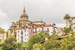 Hondarribia, país Basque, Espanha fotografia de stock