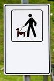 Honden slechts op een leiband Royalty-vrije Stock Afbeelding