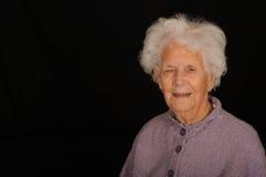 Honderd éénjarigenvrouw royalty-vrije stock afbeelding