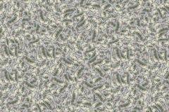 Honderd Amerikaanse dollar rekeningen als geldachtergrond Stock Foto