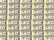Honderd Amerikaanse dollars vector illustratie