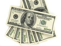 Honderd dollars Royalty-vrije Stock Foto