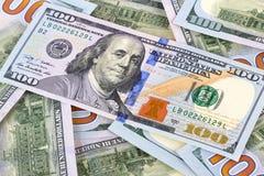 Honderd dollars Stock Foto's