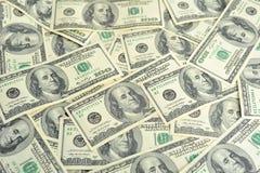 Honderd dollars Royalty-vrije Stock Afbeelding