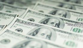 Honderd Dollarsgeld Royalty-vrije Stock Foto's