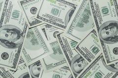 Honderd Dollarsgeld Royalty-vrije Stock Foto