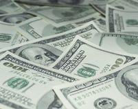 Honderd Dollarsgeld Royalty-vrije Stock Fotografie