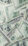 Honderd Dollarsgeld Royalty-vrije Stock Afbeeldingen