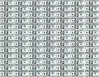 Honderd dollarsnota's Royalty-vrije Stock Afbeeldingen