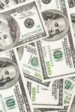 Honderd dollarsrekeningen Stock Afbeeldingen