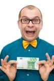 Honderd euro Royalty-vrije Stock Afbeeldingen
