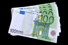 Honderd euro Royalty-vrije Stock Foto's