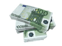 Honderd euro Stock Foto's