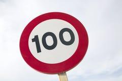 Honderd Miles Per Hour Royalty-vrije Stock Afbeeldingen