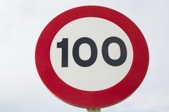 Honderd Miles Per Hour Stock Afbeelding