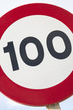 Honderd Miles Per Hour Royalty-vrije Stock Afbeelding