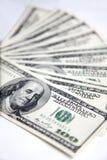 Honderden Dollars Royalty-vrije Stock Foto