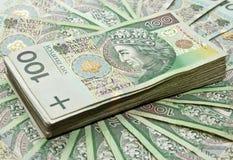 Honderden zloty Stock Fotografie
