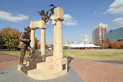 Honderdjarig Olympisch Park - Atlanta Stock Fotografie