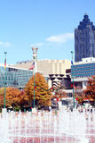 Honderdjarig Olympisch Park - Atlanta stock foto's
