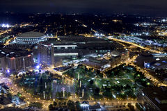 Honderdjarig Olympisch Park - Atlanta, Georgië royalty-vrije stock fotografie