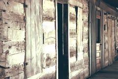 Hondflard de V.S. - de Oude Bouw Stock Foto's