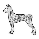 Hondkrabbel Stock Afbeelding