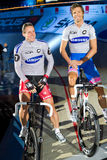 Hondo Danilo Bartko Robert at Sixday-Nights Royalty Free Stock Images