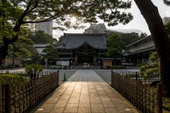 Hondo de temple de Shinto Image stock