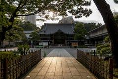 Hondo of Shinto temple Stock Image