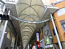 Hondori Street, Hiroshima, Japan Royalty Free Stock Image