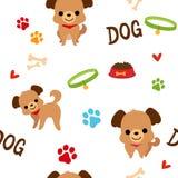 Hondpatroon Royalty-vrije Stock Afbeelding
